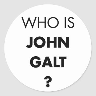 Who Is John Galt The Question Stickers