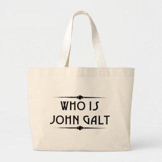 Who is John Galt Totebag Jumbo Tote Bag