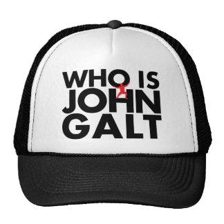 Who is John Galt Trucker Hat