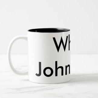 Who is John Galt? Two-Tone Coffee Mug
