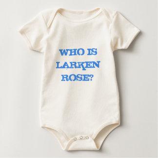 Who is Larken Rose, Organic Baby Blue Romper