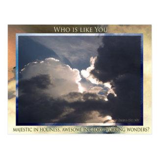 Who is like You? postcard