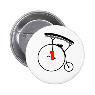 Who is Number 1? 2 Inch Round Button