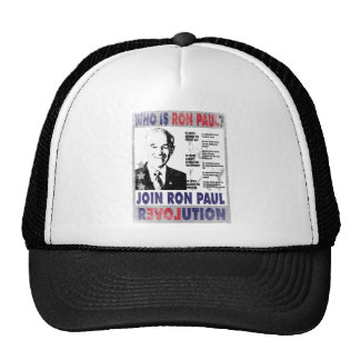 Who is Ron Paul png Trucker Hat