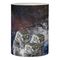 Who is that Cat and Owls Flameless Candle
