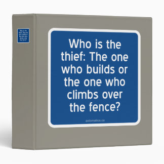 Who is the thief? binder