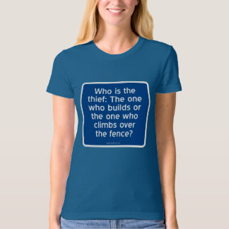 Who is the thief? shirt