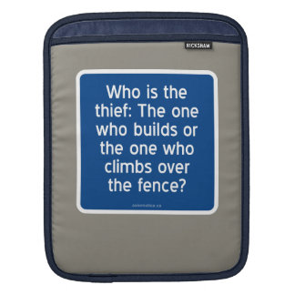 Who is the thief? sleeve for iPads