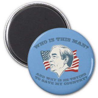 Who is This Man? Ron Paul Magnet