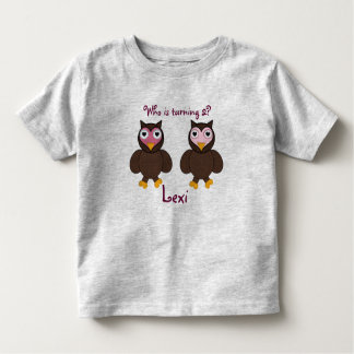 Who is Turning 2 Birthday Shirt