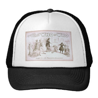 Who is Who, 'Act 1 - A False Alarm' Vintage Theate Trucker Hat