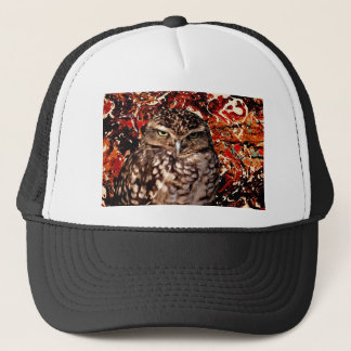WHO IS YOUR DADDY? (Owl art design) ~ Trucker Hat
