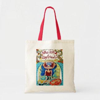 Who_KIll_my_friends_by_mariliawonka Tote Bag