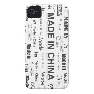 Who knew? It was MADE IN CHINA iPhone 4 Case-Mate Cases
