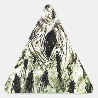 Who Knew? Triangle Sticker