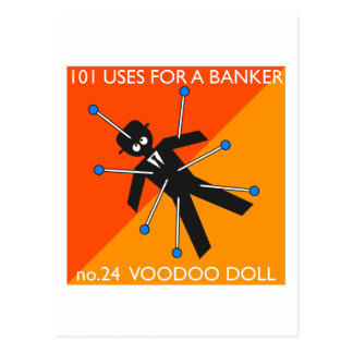 who knew what you do with voodoo?? post card