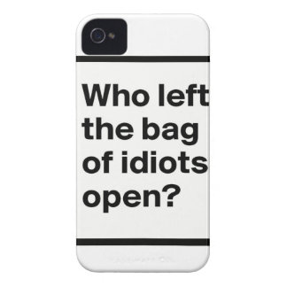 Who Left The Bag Of Idiots Open? Case-Mate iPhone 4 Cases