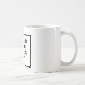 Who Left The Bag Of Idiots Open? Coffee Mug