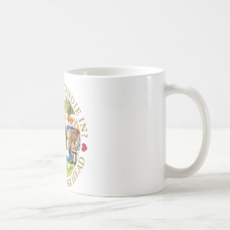 Who Let Blondie In?  Off  With Her Head! Coffee Mug