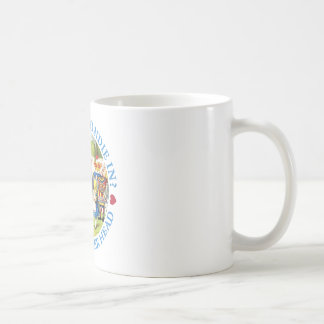 WHO LET BLONDIE IN? OFF WITH HER HEAD! COFFEE MUGS