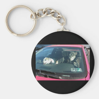 Who let the dogs out? Keychain