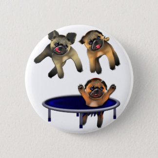 who let the pugs out button
