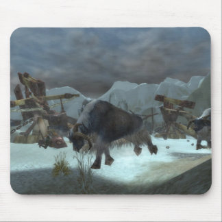 Who Let The Yak's Out?! Mouse Pad