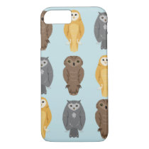 """Who Likes Owls?"" Owl Pattern iPhone 8/7 Case"
