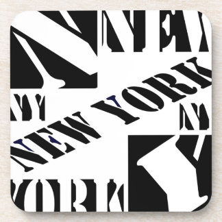 Who Loves New York Beverage Coaster