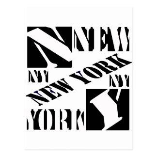Who Loves New York Postcard