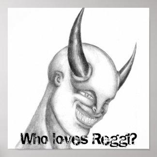 Who loves Reggi? Poster