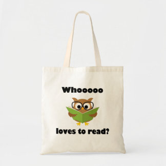 Who Loves to Read Tote Bag
