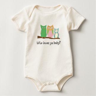 Who loves ya baby? baby bodysuit