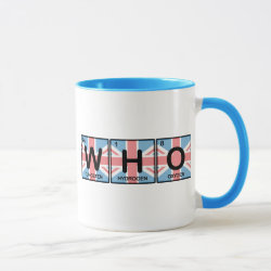 Combo Mug with Who Made of Elements design