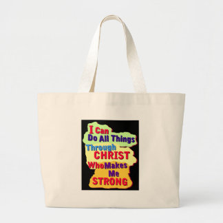 Who Makes Me strong Tote Bag