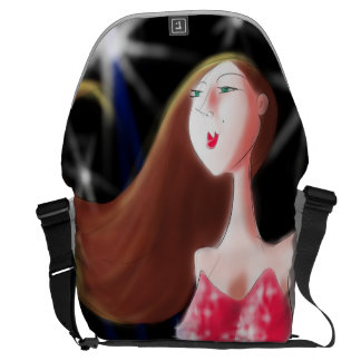 'Who Me?' Artwork by John Ridley Courier Bag