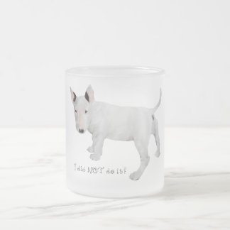 Who me Bull Terrier Puppy Coffee Mugs