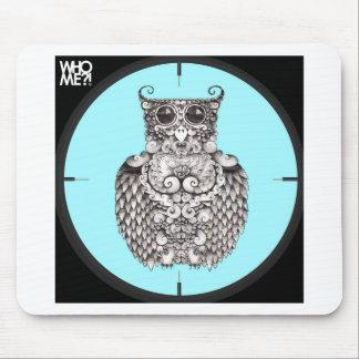 WHO ME - BY LARISSA - ORIGINAL LOGO1.jpg Mouse Pad