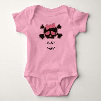 Who Me, Trouble? Baby Bodysuit