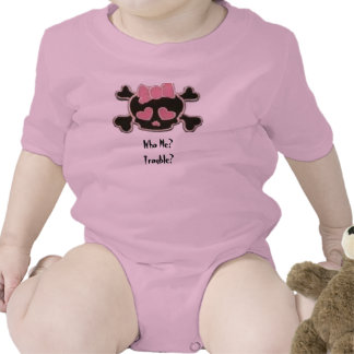 Who Me, Trouble? Baby Bodysuits