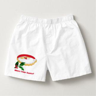 Who? Men's Boxercraft Cotton Boxers