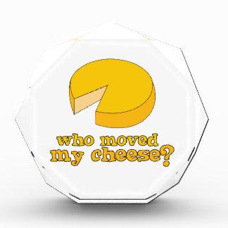 Who Moved My Cheese? Acrylic Award