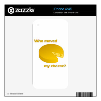 Who moved the cheese skin for iPhone 4S