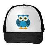 Who? Mr. Owl Cartoon Trucker Hat
