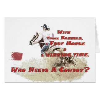 who needs a cowboy greeting cards