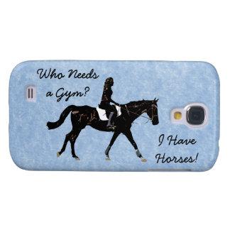 Who Needs a Gym? Fun Horse Samsung Galaxy S4 Case