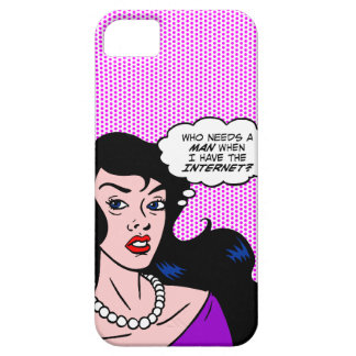 Who Needs a Man? iPhone SE/5/5s Case