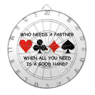 Who Needs A Partner When All You Need (Bridge) Dartboards