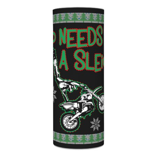 Who Needs A Sleigh Dirtbike Race Christmas Sweater Flameless Candle