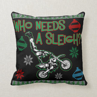 Ugly Christmas Sweater Pillows - Decorative & Throw Pillows | Zazzle